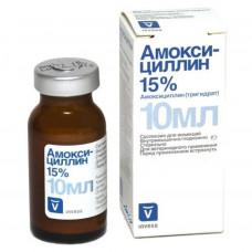 Амоксициллин 15%, фл. 10 мл Инвеса