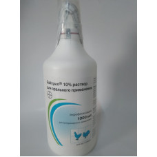 Байтрил 10 % р-р для орального применения, фл. 1 л